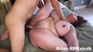 BBW Asian with Gigantic Tits Fucked by Photographer – more at BBW-Asian.com