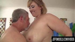 BBW MILF Lila Lovely riding mature dick