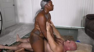 Black Beauty with Big Juicy Ass gets fucked and creamed hardcore fuck