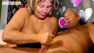 German Granny Karin Sucks And Fucks With Hubby Like A Pro