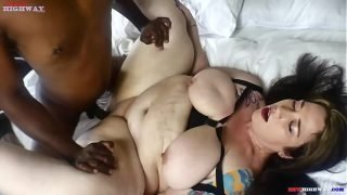 Mr.Stixxx rubs and bangs the booty of redhead mom Veronica Red