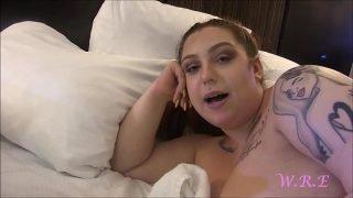 Pawg BBW Ruby Larose first time being exposed