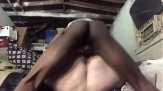 Submissive ssbbw slut trying to take bbc