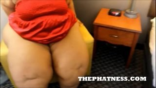 THEPHATNESS.COM : Fallon Fierce rides and doggystyled