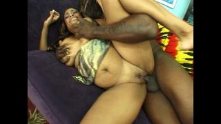 Thick BBW fucked doggystyle then creamed
