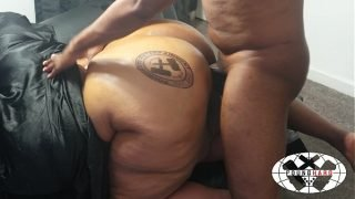 Waste No Time Branding (BBW POUNDED OUT IN CHAIR) BACKSHOTS